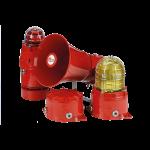 Feuerfeste Signalgeräte STEx (Rostfreier Stahl 316L)