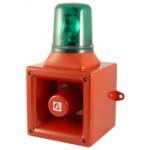 Elektronischer Schallgeber mit Drehleuchte AB112R