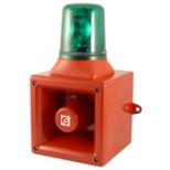 Avertisseur électronique avec feu tournant AB112R