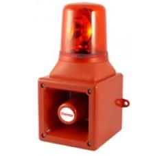 Avertisseur électronique avec feu tournant AB105R