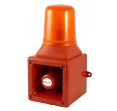 Avertisseur électronique avec lampe flash xénon AB105S